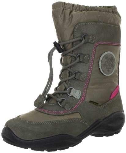 Ecco ECCO WINTER QUEEN Boots Girls Gray Grau (Warm Grey/Warm Grey/Wild Dove/ Veloursleder 57611) Size: 36