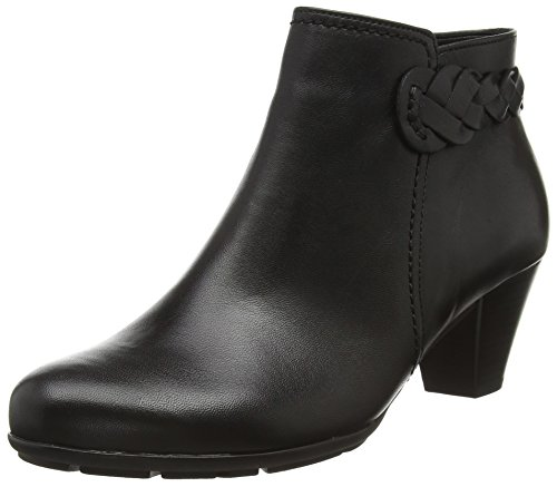 Gabor Shoes Basic, Stivaletti Donna, Nero (Schwarz 27), 43 EU