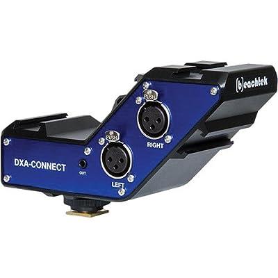 BeachTek DXA-CONNECT XLR Adapter/Bracket Combo for DSLR Cameras & Camcorders