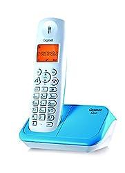 Gigaset A450 white & Blue cordless landline phone