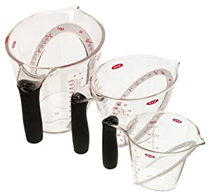 OXO Good Grips Angled Measuring Cup, Set of 3