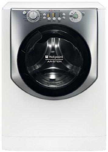Hotpoint-Ariston AQUALTIS AQ83L 09 IT Lave linge 8 kg 1000 trs/min A+++ Argent, Blanc