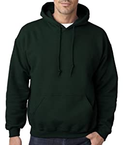 Hooded Pullover Sweat Shirt Heavy Blend 50/50 - Forest Green 18500 L