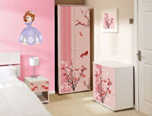 sofia the first full colour kids bedroom wall sticker