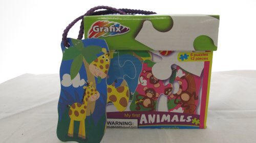 My First Counting Animal Puzzle By Grafix