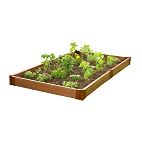 Frame It All SBX-GNS Raised Garden and Sandbox Kit