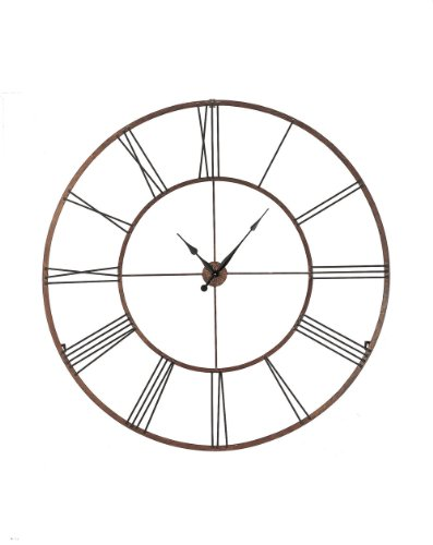 Roman Numeral Wall Clock Iron
