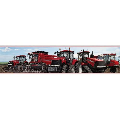 Case Ih Tractor Wallpaper Border - - Amazon.com