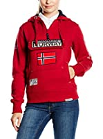 Geographical Norway Sudadera con Capucha Gymclass (Rojo)