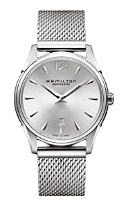 Hamilton Men's H38615255 Jazzmaster Silver Dial Watch by Hamilton