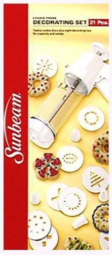 Sunbeam 21-Piece Cookie Press/Decorating Set