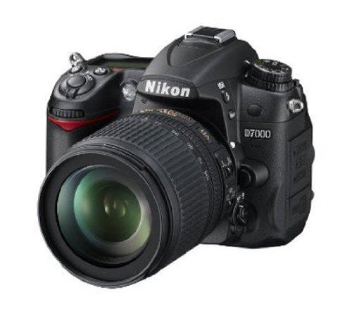 Nikon-D7000-162MP-Digital-SLR-Camera-Black-with-AF-S-18-105mm-VR-II-Kit-Lens-and-8GB-Card-Camera-Bag