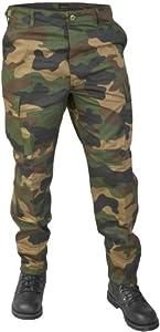 US Army Ranger Cargo Hose Größe M Farbe Woodland