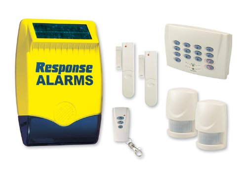 Friedland Response SA2 Wirefree Security Alarm w/ Battery Powered Solar Siren