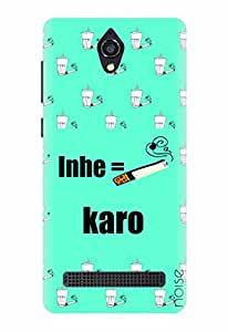 Noise Inhe Karo Printed Cover for Micromax Canvas Blaze 4G Q400
