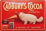 Cadbury Cocoa Cat embossed metal sign (hi 3020)