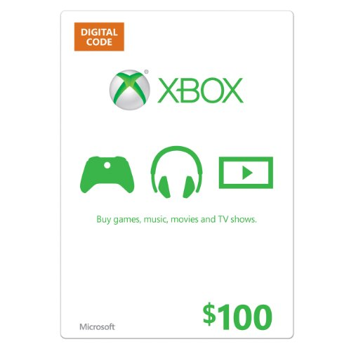 Xbox $100 Gift Card - Digital Code (Xbox Live Digital Gift Card compare prices)