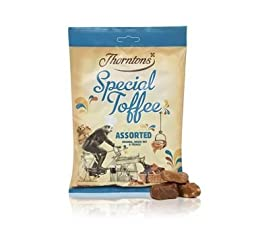 Thorntons Assorted Toffee Bag 325G