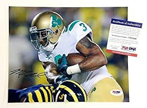 Michael Floyd Signed Photo - 11x14 NOTRE DAME FIGHTING IRISH PSA DNA V51899 by Sports+Memorabilia