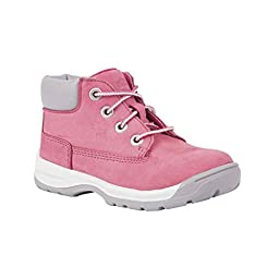 Timberland TB04881R661 Toddler\'s Timber Tykes Lace Boot Pink 12 M US