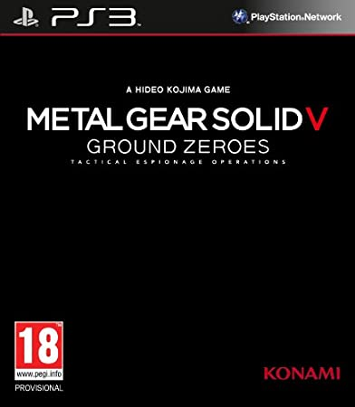 Metal Gear Solid V: Ground Zeros (PS3)