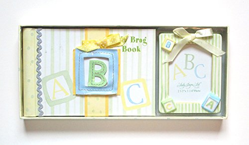ABC Blocks Brag Book Set with Photo Frame