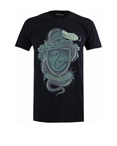ICONIC COLLECTION – HARRY POTTER Camiseta Manga Corta Slytherin Badge