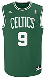Rajon Rondo Boston Celtics Green #9 NBA adidas Revolution 30 Replica Basketball Jersey