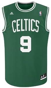 NBA Boston Celtics Green Replica Jersey Rajon Rondo #9 by adidas