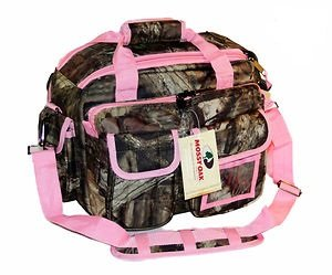 Explorer Mossy Oak Padded Gun Bag, Pink, 16 x 11 x10-Inch by Explorer