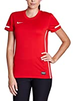 Nike Camiseta Manga Corta Training Top (Rojo)