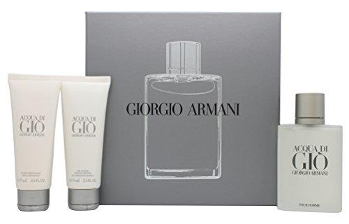 Giorgio Armani Acqua Di Gio Confezione Regalo 100ml EDT + 75ml Balsamo Dopobarba + 75ml Gel Doccia