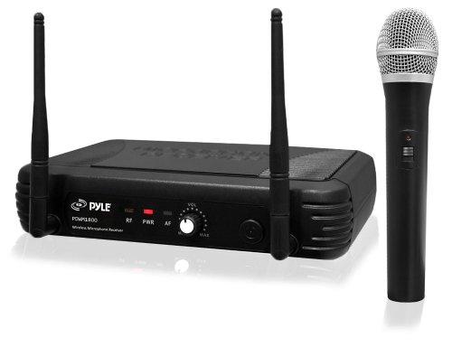 Pylepro Pdwm1800 Professional Uhf Wireless Handheld Microphone System With Selectable Frequencies