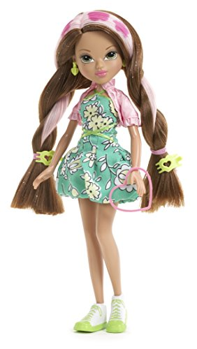 Moxie Girlz Magic Hair Stamp Designer Doll, Monet - 1