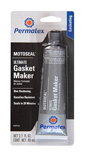 Permatex 29132 2 Pack 2.7 oz. MotoSeal 1 Ultimate Gasket Maker, Grey (Exhaust Joint Sealer compare prices)