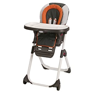 Graco DuoDiner LX Highchair, Tangerine