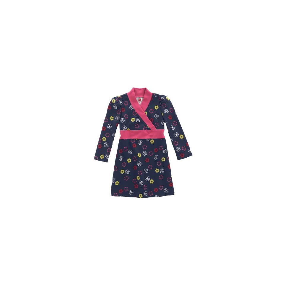 Tea Collection Baby Blossom Banded Dress, Indigo, 6 12 Months