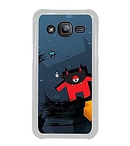 Cartoon 2D Hard Polycarbonate Designer Back Case Cover for Samsung Galaxy J2 J200G (2015) :: Samsung Galaxy J2 Duos :: Samsung Galaxy J2 J200F J200Y J200H J200GU