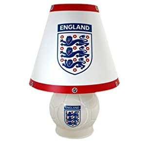 England Bedside Lamp - Football Gifts