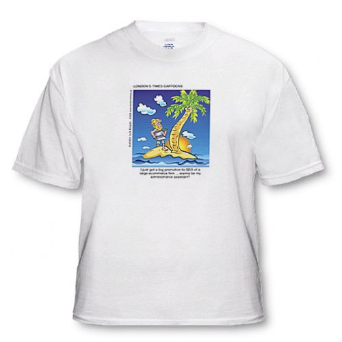 Londons Times Funny Business Cartoons – SEO Business Venture – T-Shirts