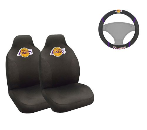A Set Of 3 Piece Automotive Gift Set 2 Front Seat Covers