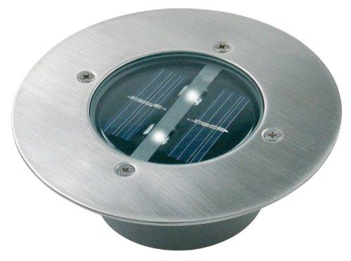 5000.197 Solar Bodeneinbaustrahler rund, IP44, befahrbar, bis zu 1250 kg belastbar