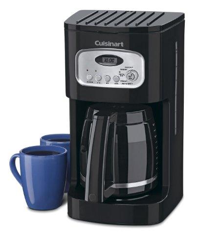 Imagen de Cuisinart DCC-1100BK para 12 tazas Cafetera programable, Negro