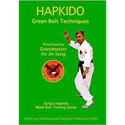 Song's Hapkido Green Belt Techniques