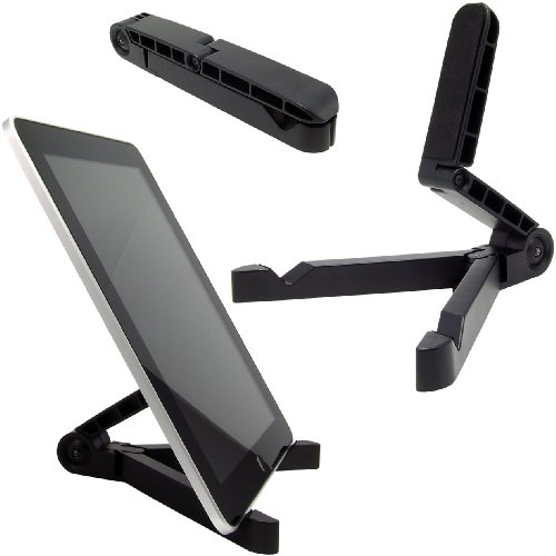 Arkon Carry-on Fold-Up Stand for Apple iPad, Galaxy Tab, Amicably Fire, Playbook, Xoom, Toshiba, Acer, Corner and Other Tablets (IPM-TAB1)