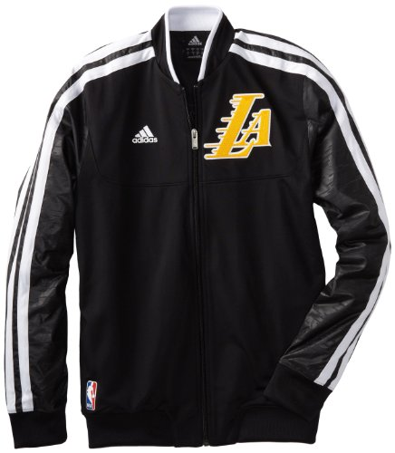 NBA Los Angeles Lakers On-Court Warm-Up Jacket Home Weekday, XX-Large at Amazon.com