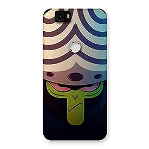 Stylish Green Black Mojo Back Case Cover for Google Nexus-6P