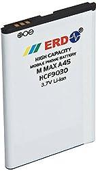 Li-ion Mobile Battery for Micromax A45/Intex aqua 4.0/Karbonn A27/Spice S5400,M5800/Intex cloud X1,A480+,EGAL,CIGMA (White)