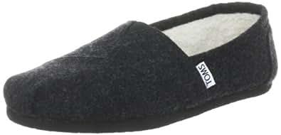 Toms Women's Classic Woolen Black Casual Shoe 5 Women US