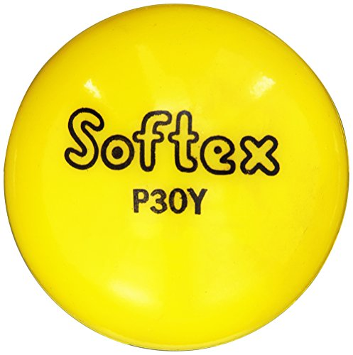 "Softex Vinyl Playballs, 3"", Yellow"